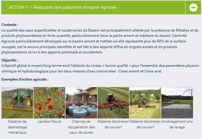 lien action agri