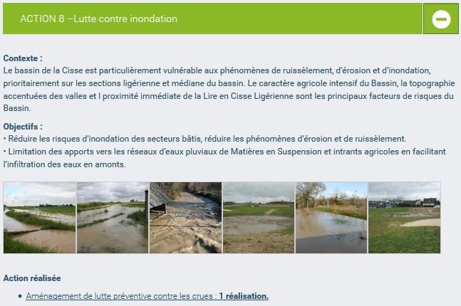 lien action inondation