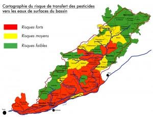 carto risque pesticide modifié